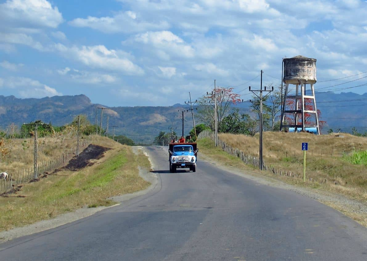 Straße Trinidat,Kuba